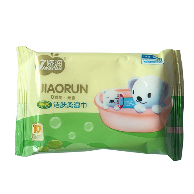 娇润酷熊10片湿巾