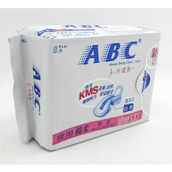 k14ABC夜用280超级薄棉柔表层