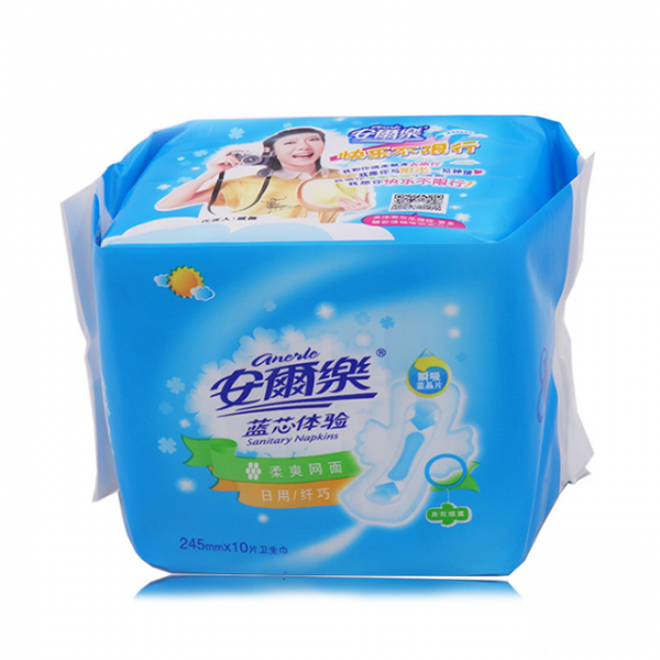 安尔乐网面卫生巾