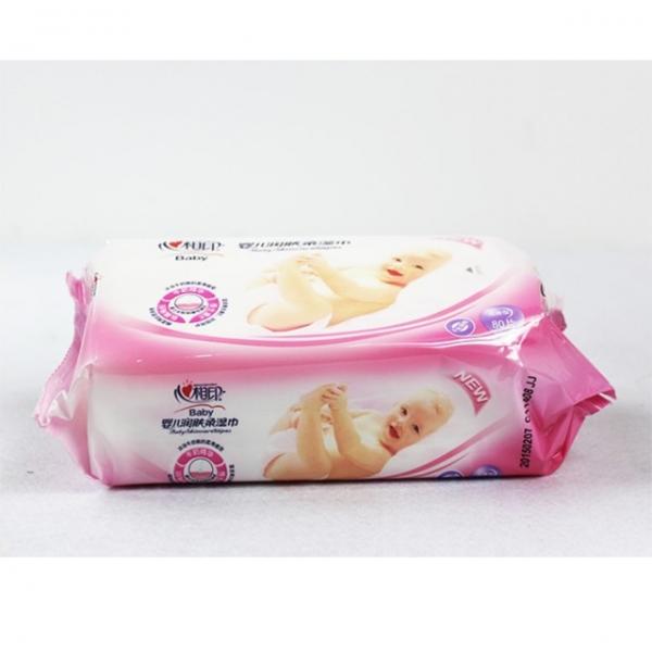 心相印80片婴儿润肤湿巾